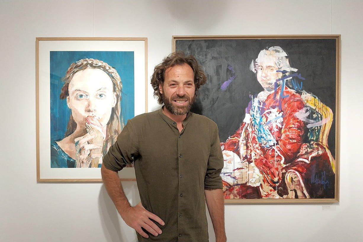 opening art exhibition valter lopes apaixonarte