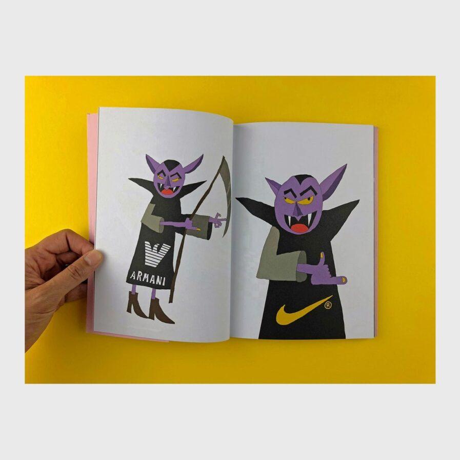 book illustration by germes gang