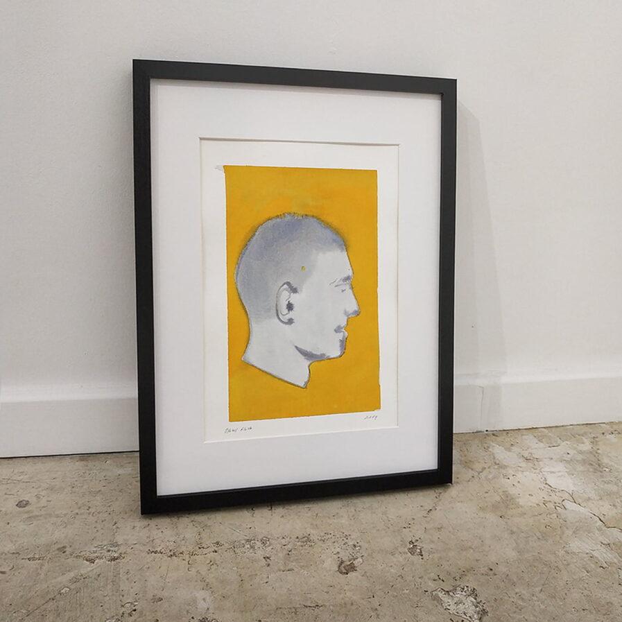 perfil homem aquarela dylan silva
