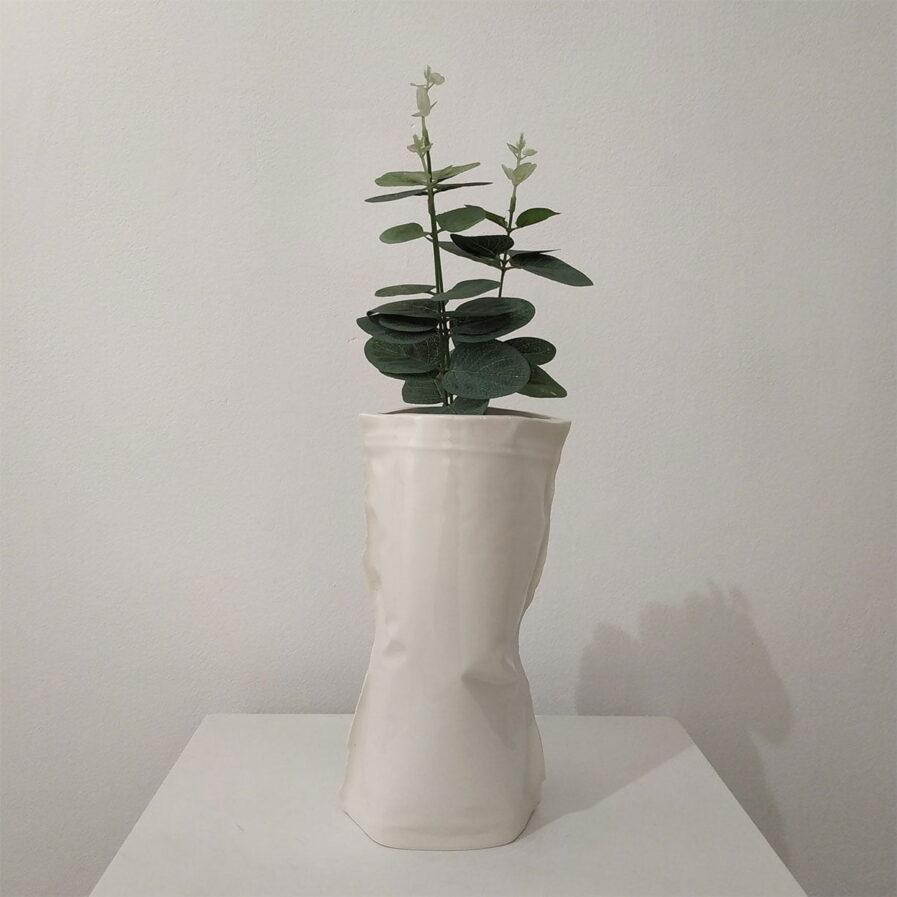 jarra flores branco decoracao