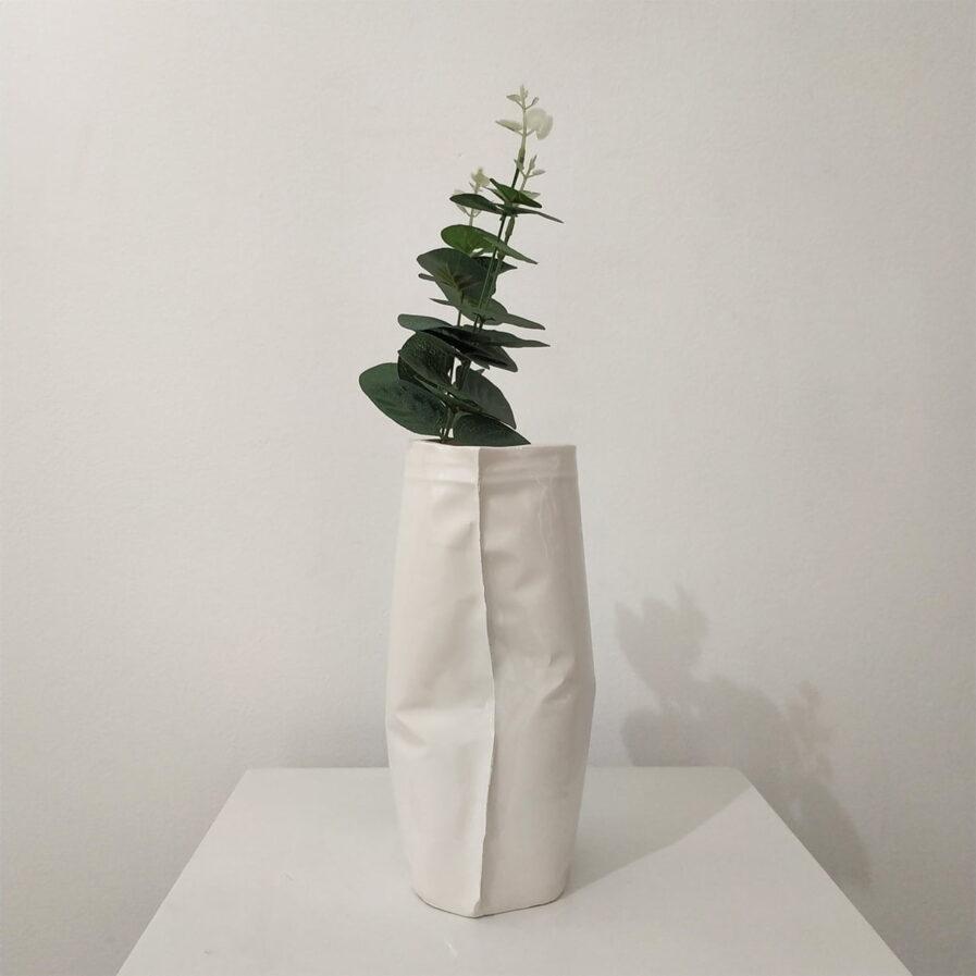 flores, jarra, branco, decoracao