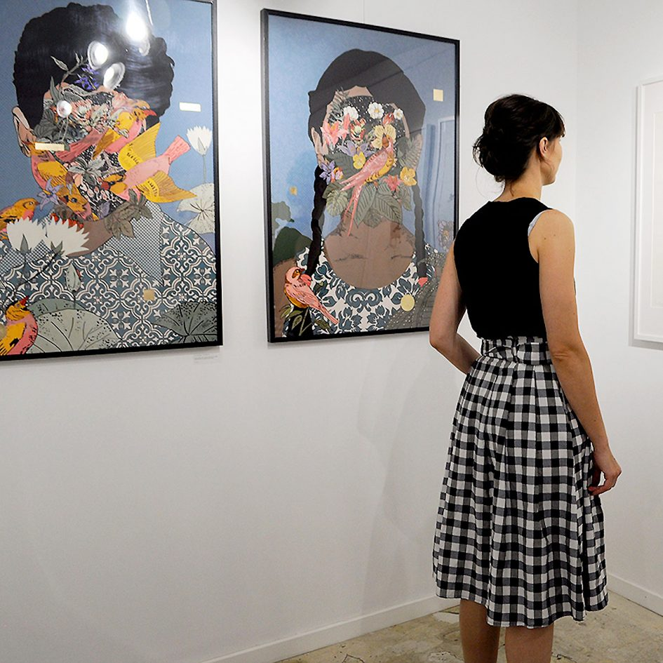 full scale, paintings, woman