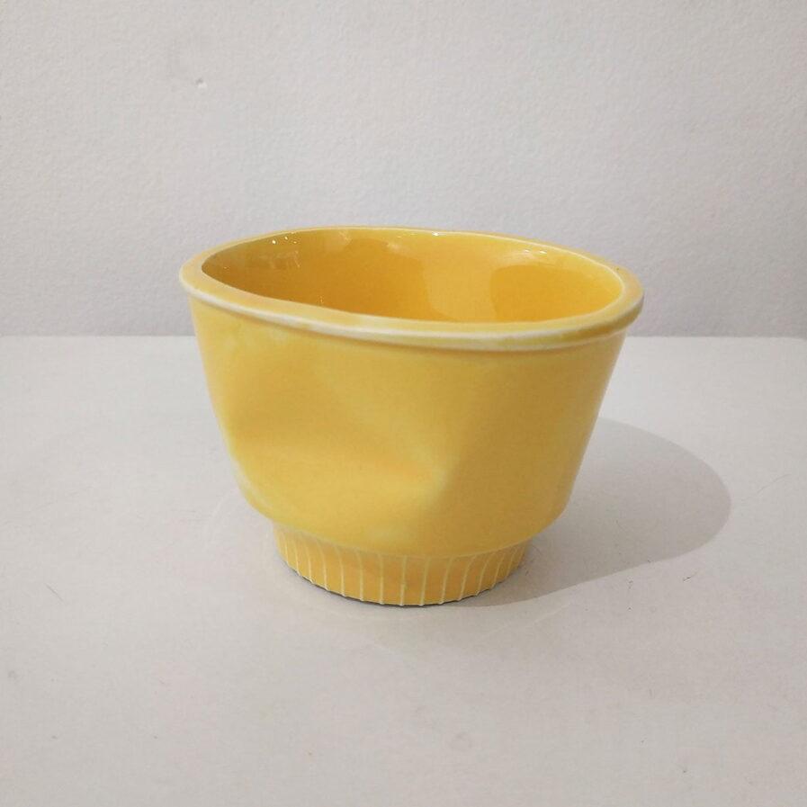 cup ceramic yellow