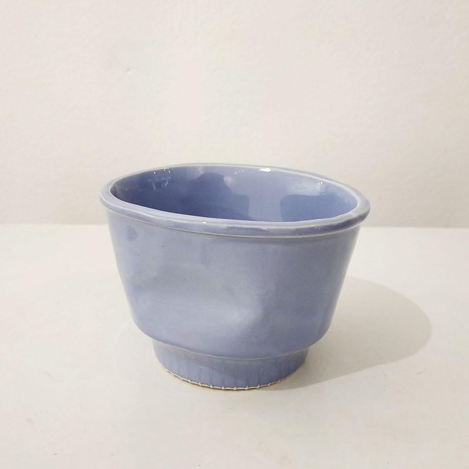 cup ceramic lilac