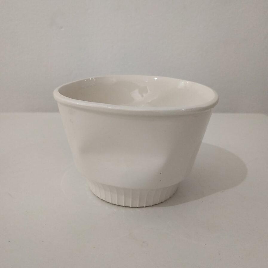 cup ceramic white