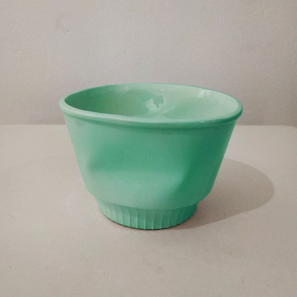 cup ceramic liberty green