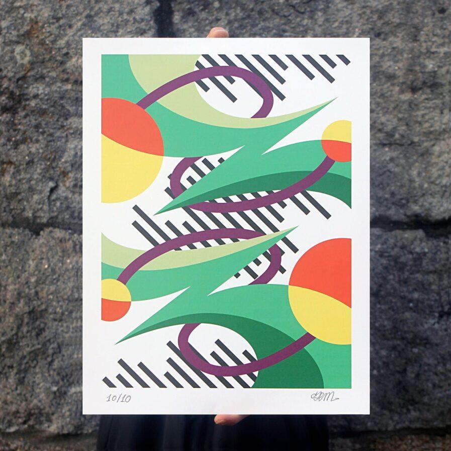 linhas formas exterior