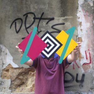 triangulos arte urbana
