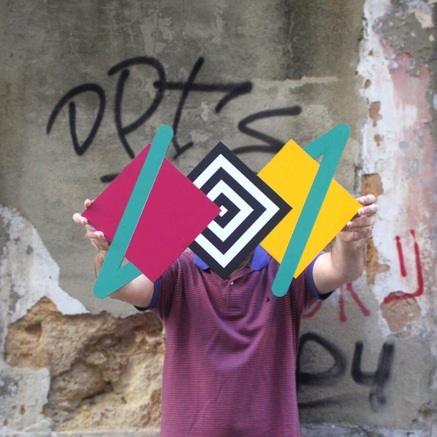 triangles street art