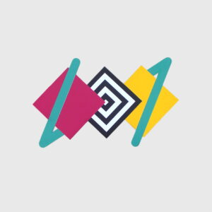 quadrados cores linhas