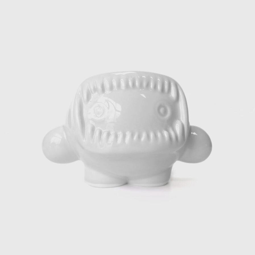 ceramic white eskimo