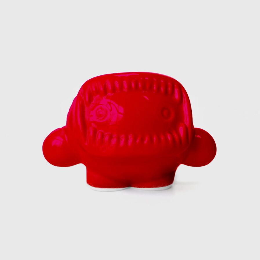 ceramic red eskimo