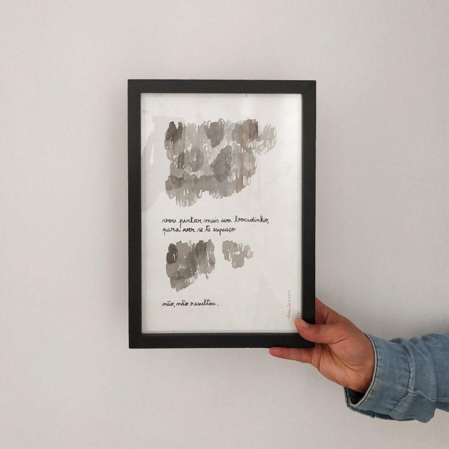 words frame hand