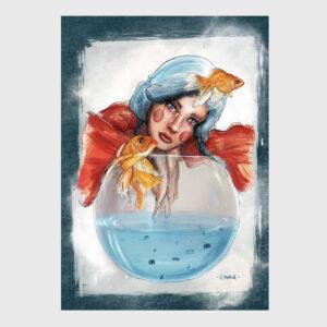 aquarium girl crown