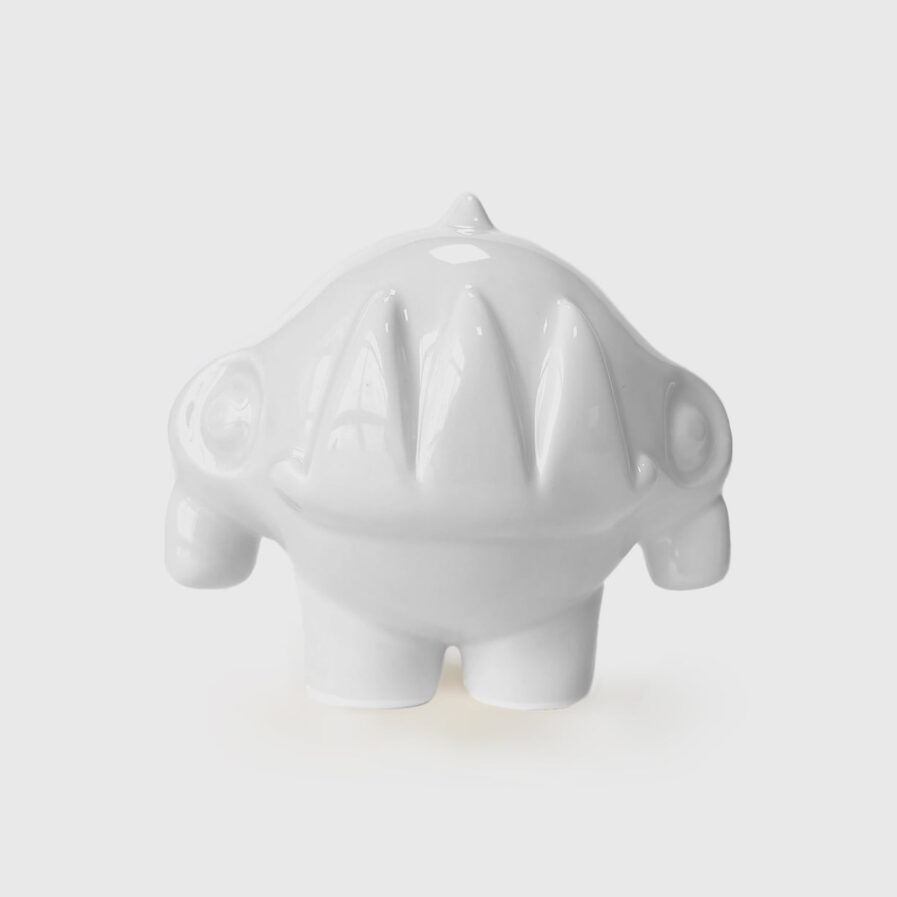 ceramic white rhinoceros