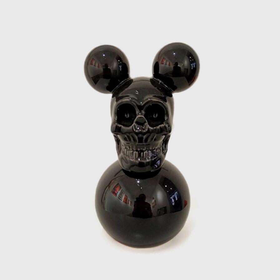 black skull mouse