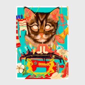 cat megaphone