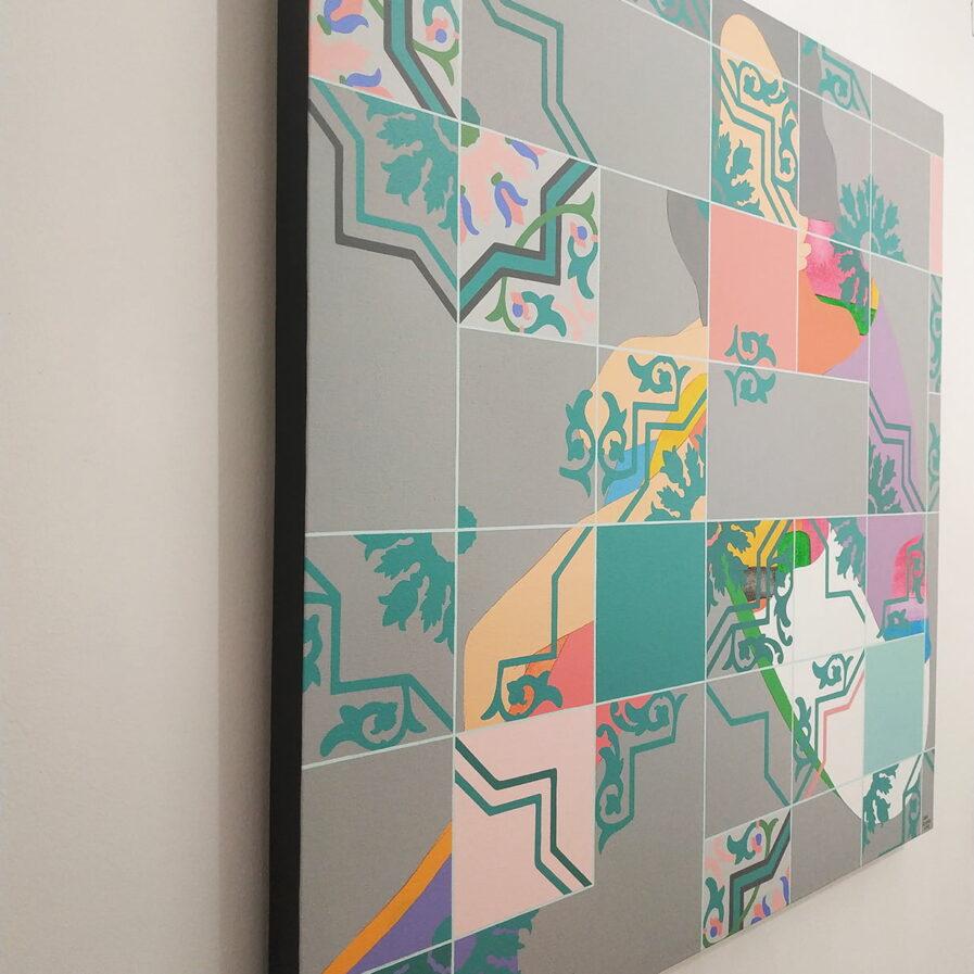 Painting detail from Lara Roseiro