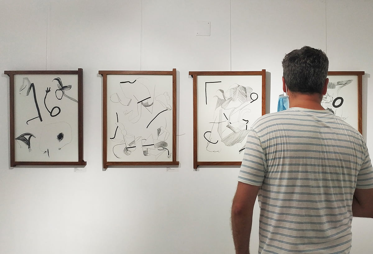 photography from opening art exhibition