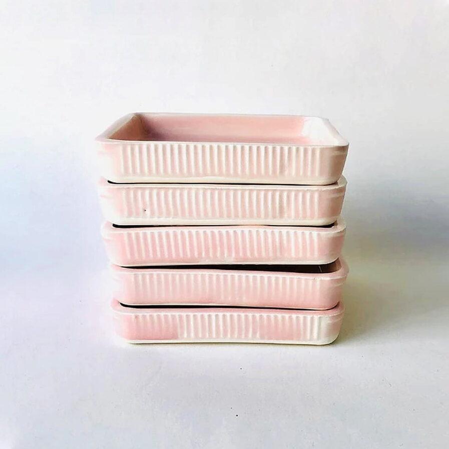 pink ceramic