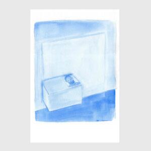 lay print watercolor