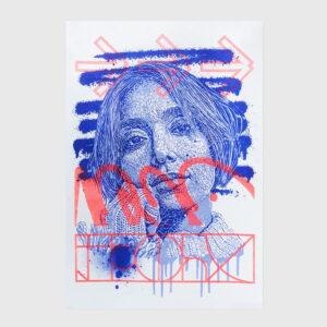risography print samina