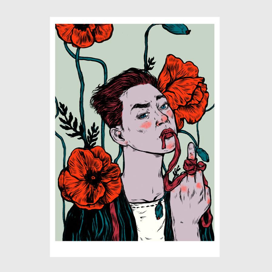 digital print illustration